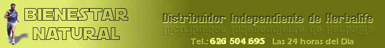 Distribuidor de Productos Herbalife